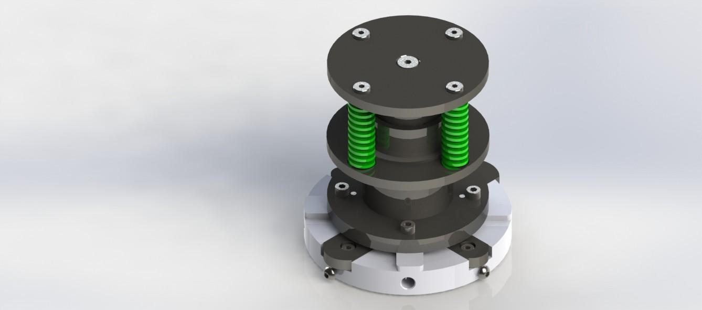 Groovy Wykrojnik do zaokrąglania naroży blach w 4 promieniach - UltraPras OW35